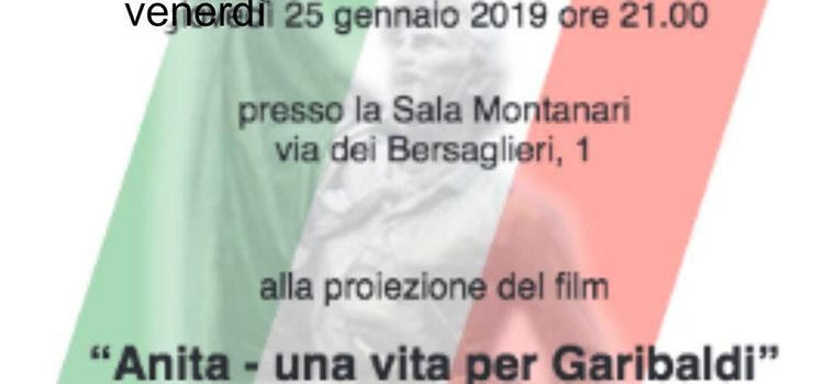 """25 Gennaio, Varese – Proiezione film """"Anita – una vita per Garibaldi"""""""