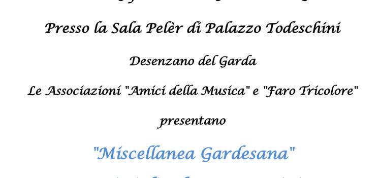 """9 febbraio, Desenzano del Garda – Presentazione del libro """"Miscellanea Gardesana. Scritti di Edo Campostrini"""""""