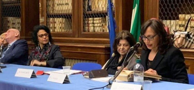 """Discorso per Napoli """" Una Conversazione su Alessandro Poerio"""" 5 febbraio 2019"""