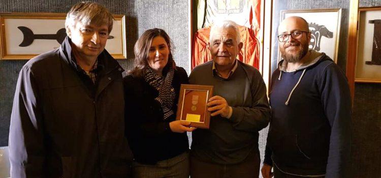 Collocazione medaglia a Rocca San Casciano
