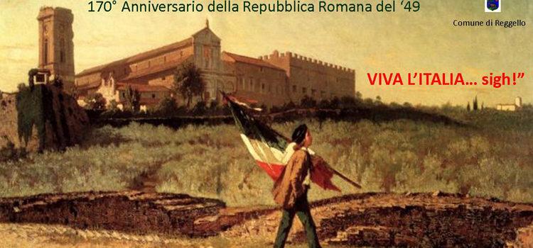 """26 aprile, Reggello – Anteprima volume """"Viva l'Italia…sigh!"""""""