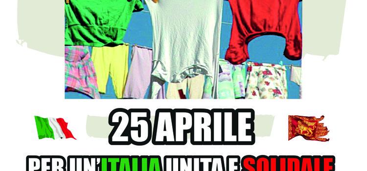 25 Aprile, Venezia – Per un'Italia unita e solidale