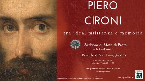 15 Aprile, Prato – Mostra per i 200 anni dalla nascita di Piero Cironi