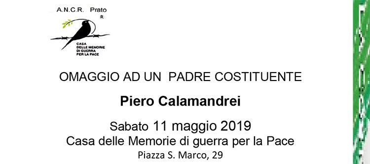 11 Maggio, Prato – Convegno su Piero Calamandrei