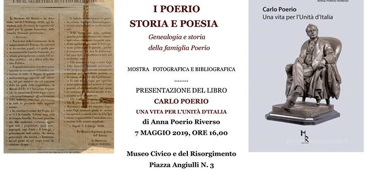 7 Maggio, Santa Maria C.V. – Mostra sulla Famiglia Poerio e presentazione del libro su Carlo Poerio
