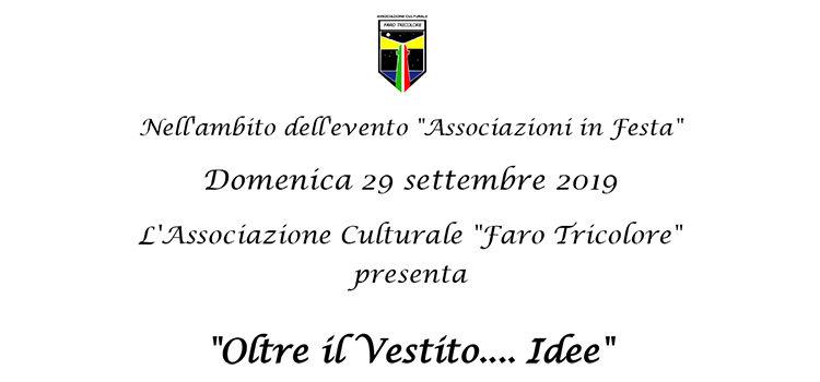 """29 settembre, Desenzano del Garda – """"Oltre il vestito…idee"""""""