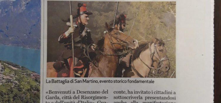 """Raccolta di firme per l'intitolazione di Desenzano a """"Città del Risorgimento e dell'Unità d'Italia"""""""