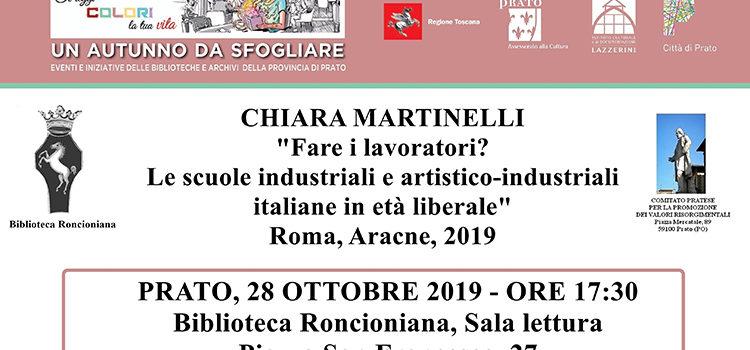 """28 ottobre, Prato – Presentazione del volume """"Fare i lavoratori?"""""""