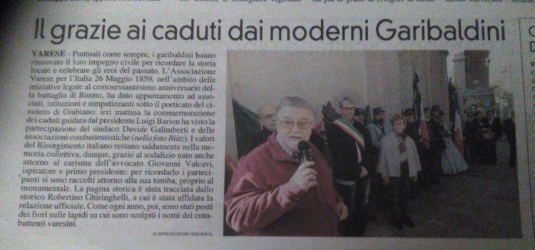 Rassegna stampa attività Varese