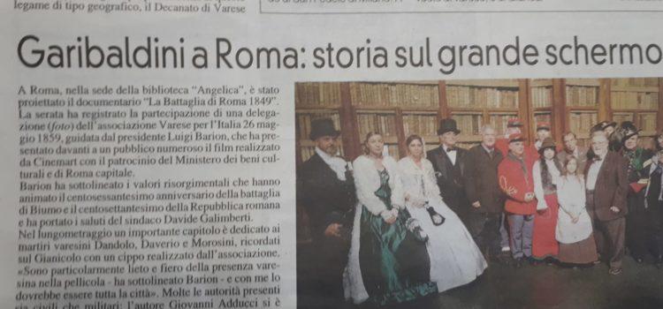 Rassegna stampa Varese per l'Italia