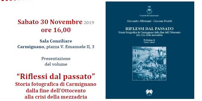 """30 novembre, Carmignano – Presentazione del volume """"Riflessi del passato"""""""