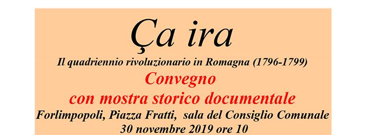 30 novembre, Forlimpopoli – Convegno con mostra storico documentale