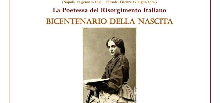 17 gennaio, Napoli – Bicentenario della nascita di Laura Beatrice Oliva Mancini