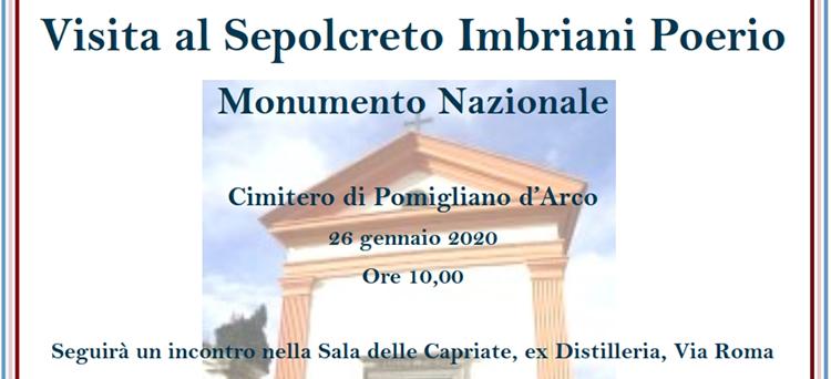 26 gennaio, Pomigliano d'Arco – Visita guidata al Sepocreto Imbriani Poerio