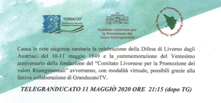 Trasmissione TeleGranducato dell'11 maggio