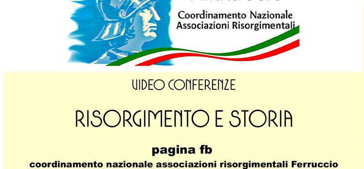 10 giugno – Videoconferenza Risorgimento e Storia