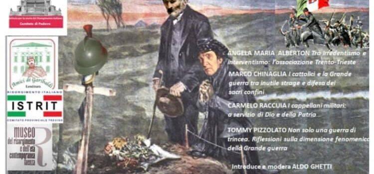 """24 maggio – Webinar """"La guerra non è un'amenità – L'Italia alla prova del primo conflitto mondiale"""""""