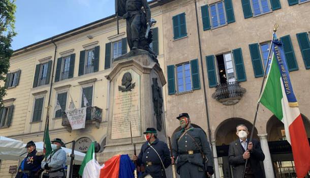 """Varese – Niente corteo ma un ricordo """"in presenza"""" per il 162esimo anniversario della Battaglia di Biumo"""