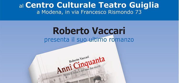 """4 settembre , Modena – Presentazione libro """"Anni Cinquanta"""""""