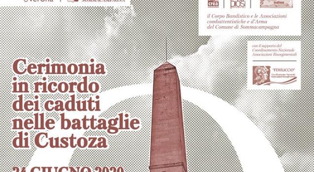 24 giugno, Custoza – Cerimonia in ricordo dei caduti nelle battaglie di Custoza