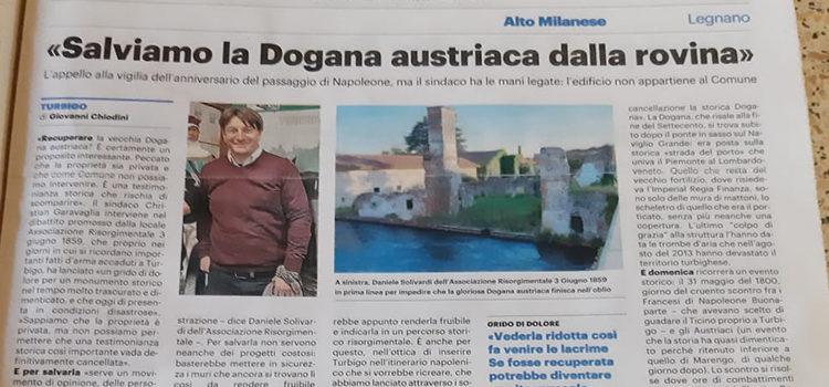 """L'associazione di Turbigo: """"L'ex dogana va recuperata"""