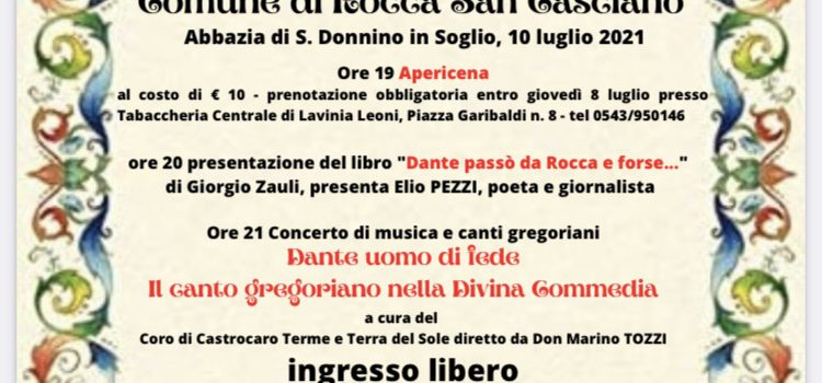 10 luglio, Rocca San Casciano – Il cammino di Dante tra Mugello e Romagna Toscana