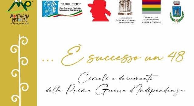 """19 luglio, Gavinana – Inaugurazione mostra """"…E' Successo un 48"""