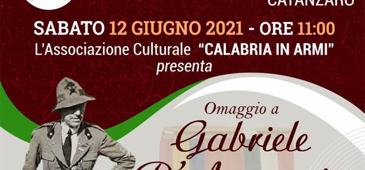 12 giugno, Catanzaro – Omaggio a Gabriele D'Annunzio